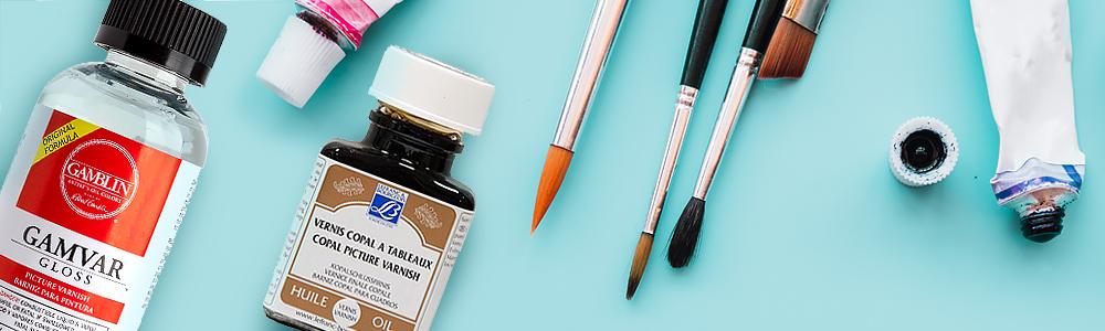 Лаки для масляной живописи: подробный разбор
